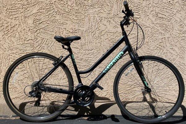 Marin Kentfield 1 ST Hybrid Large Black (used)