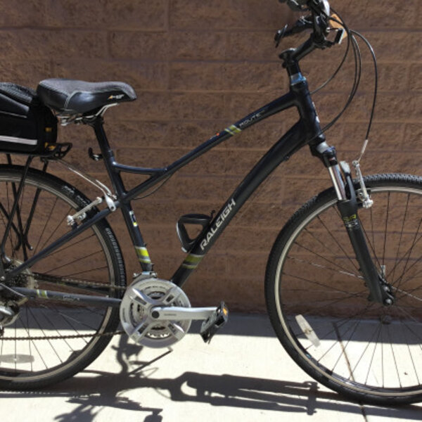 Raleigh Route 4.0 Hybrid Large Black (USED)