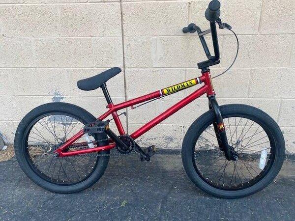 SE Bikes Wildman Bmx Red (used)