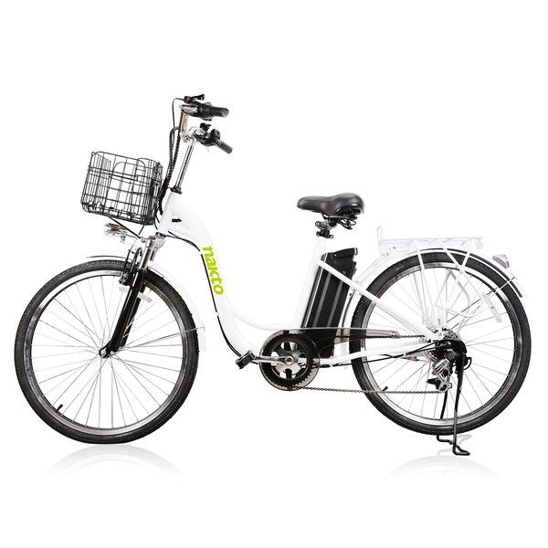 Nakto E-Bikes Camel 26 Step-Through Cruiser E-Bike