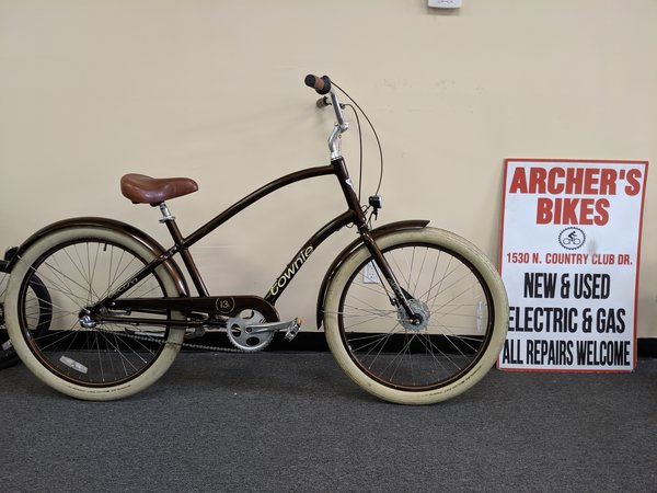 "Electra Townie Beach Cruiser Brown 19"" (used)"