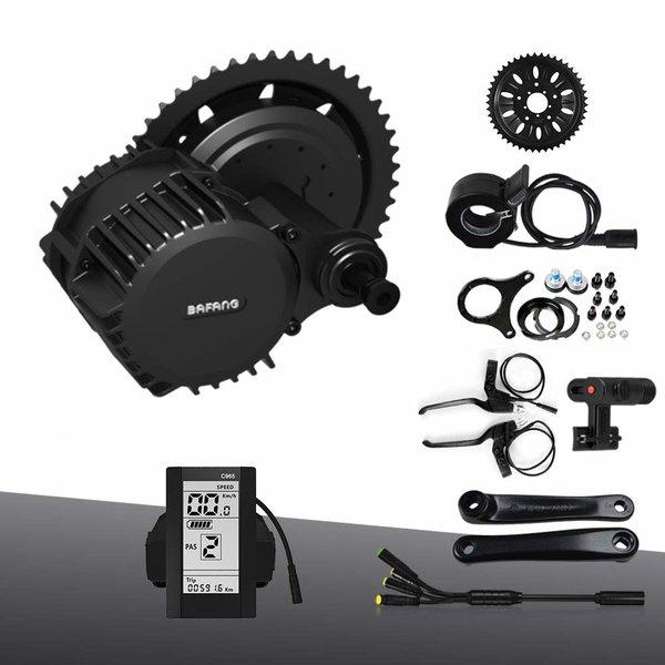 Bafang BBS03 48v1,000w center drive kit w/batt-chgr