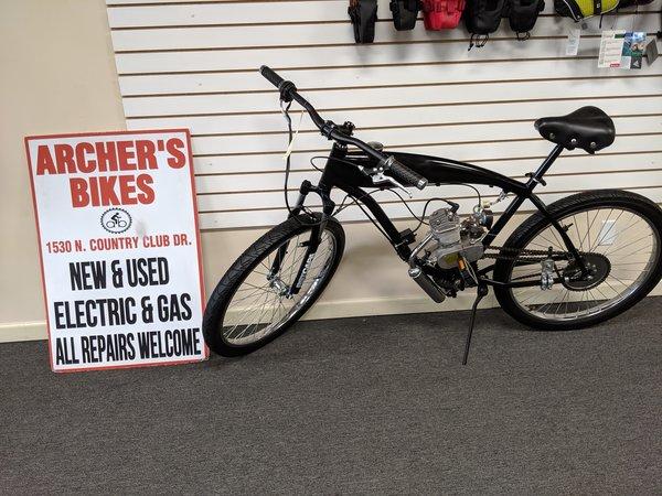 BBR 2 Stroke 80cc Gas Bike (used)