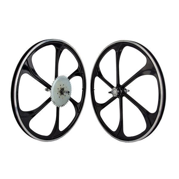 Wheel Master Motorbike Mag Wheels - Gas Bike Wheel Set