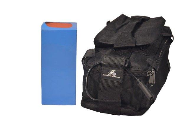 eBikeKit Li-ion 36v 9ah battery, bag, charger