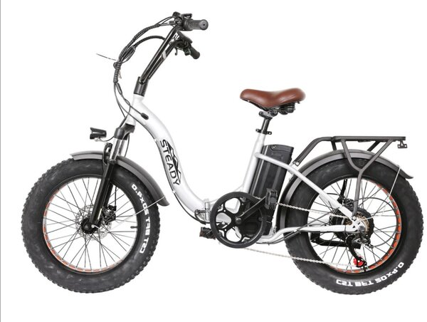 Nakto Steady Folding OXW Fat Tire E-Bike