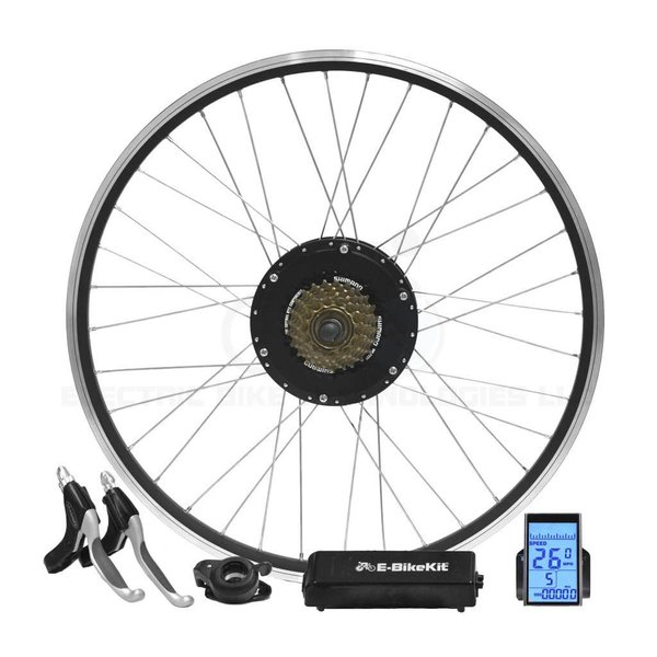 eBikeKit Rear wheel e-bike 36/48 v 7spd HD