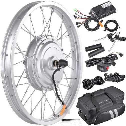Front wheel drive hub motor