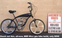 BBR 2-stroke kit w/hi-rise bars
