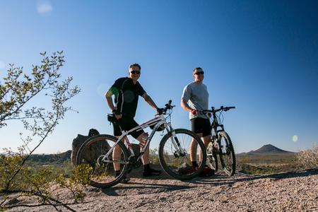 Alex & Randy on the TRW trail