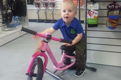 Even Cameron wants a bike