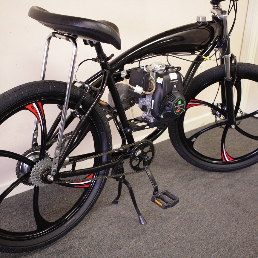 All about gas bikes, repairs & maintenance
