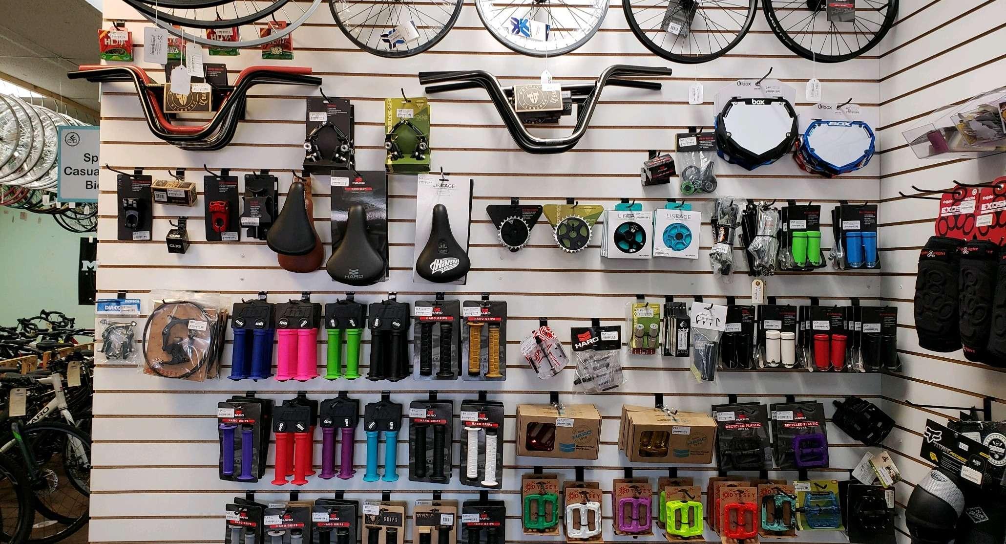 BMX Parts & Accessories
