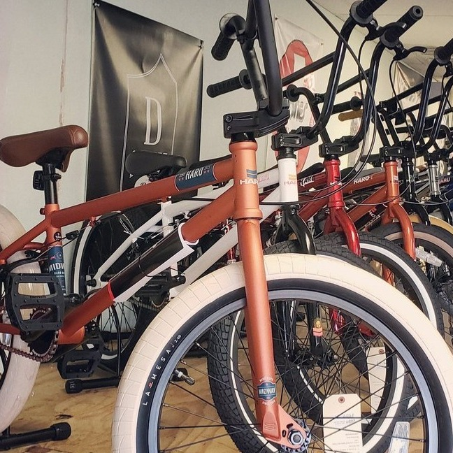 BMX Bikes of All Types