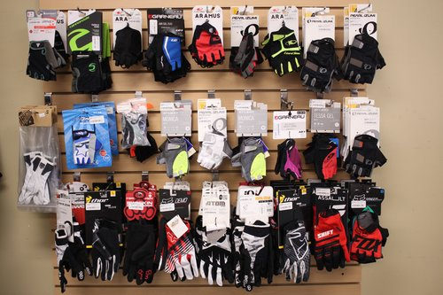 Big selection of gloves