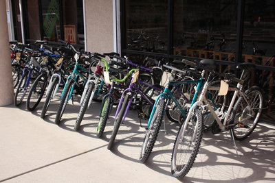 over 100 used bikes in stock