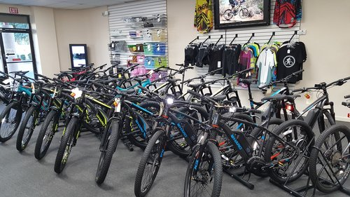 We have hundreds of new bikes built and ready to ride