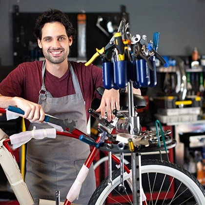 Read articles on bicycle repair