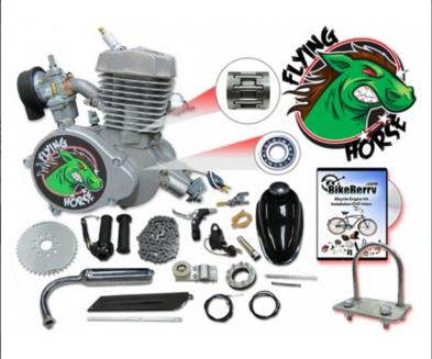 Flying Horse 48cc & 80cc 2-stroke kit