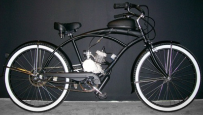 The 80cc Motorized Bicycle is our most popular