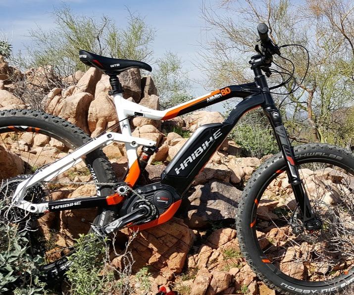 Haibike E-MTB and Urban E-Bikes