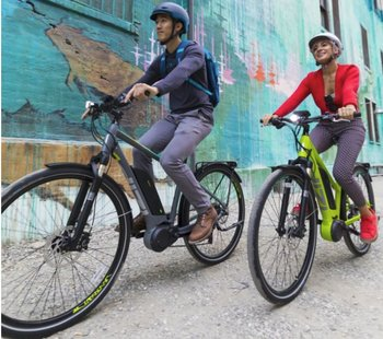 Comfort Cruiser E-Bikes