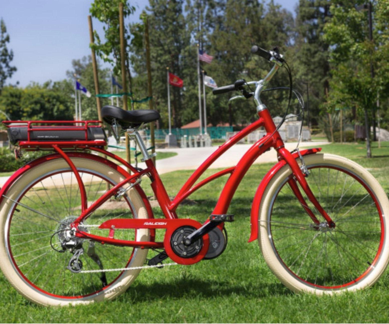 Raleigh Electric Urban and Mountain Bikes