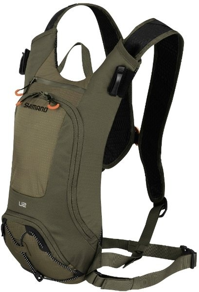 Shimano makes bike-specific hydration packs