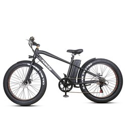 Nakto E-Bikes Cruiser 26 Fat Tire E-Bike