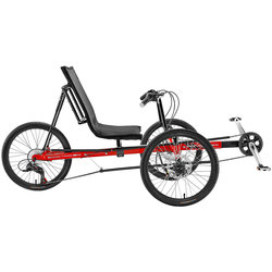 Sun Bicycles Eco Tad SX Recumbent Trike Red (used)