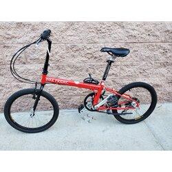 Bike Friday Speeding Tikit Folding Red (used)