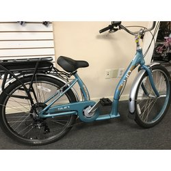 Sun Bicycles Streamway Low Step E-Bike Cruiser