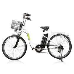 Nakto E-Bikes Camel 26 Step-Through Cruiser E-Bike