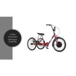 Sun Bicycles Traditional 24 E-Trike