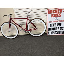 Pure Cycles Fixie Single Speed (used) Red