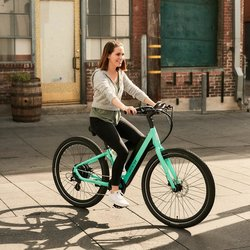 Aventon Pace 500 Step-Through Urban Cruiser E-Bike