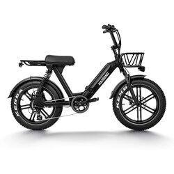 HD Challenger 20in Fat Tire E-Bike