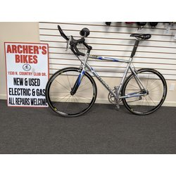 Giant T.C.R. One Road Bike Silver (used)