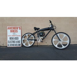 Umoto 4-stroke Gas Bike Conversion