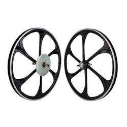 Wheel Master Motorbike Mag Wheels - Gas Bike Wheel Set