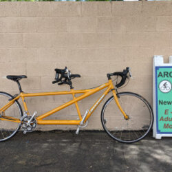 Cannondale Tandem Road Bike 17in 19in Yellow (used)