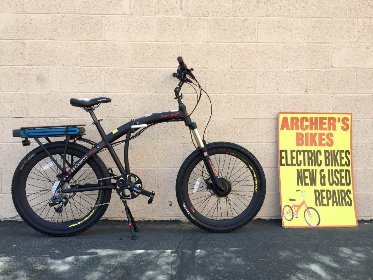 574eef3eac6 Prodeco Phantom Xii Electric Bike (used) - Archer's Bikes   Mesa, AZ