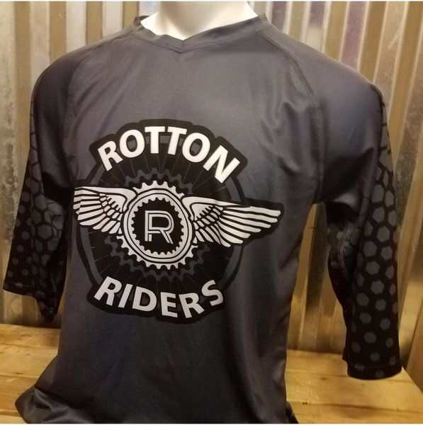Wonderful Outdoor Sports Rotton Riders MTB Jersey 3/4 Sleave