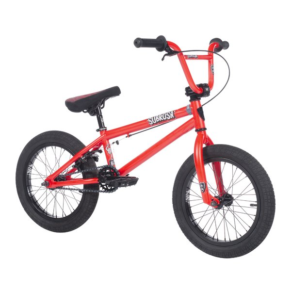 "Subrosa Altus 16"" Color: Satin Fury Red"