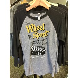 Wheel Sport Vintage Shirt, 3/4 Sleeve