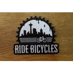 Ride Bicycles Ride Bicycles Iron On Patch