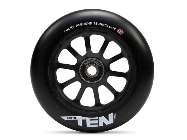 Lucky Pro Scooters TEN 120mm Wheel Color: Black
