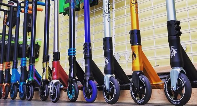 Pro Scooters - Papa Wheelie Bicycles