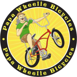 Papa Wheelie Bicycles - Garden Grove, CA logo link to homepage