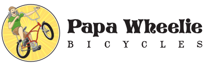 Papa Wheelie Bicycles Logo